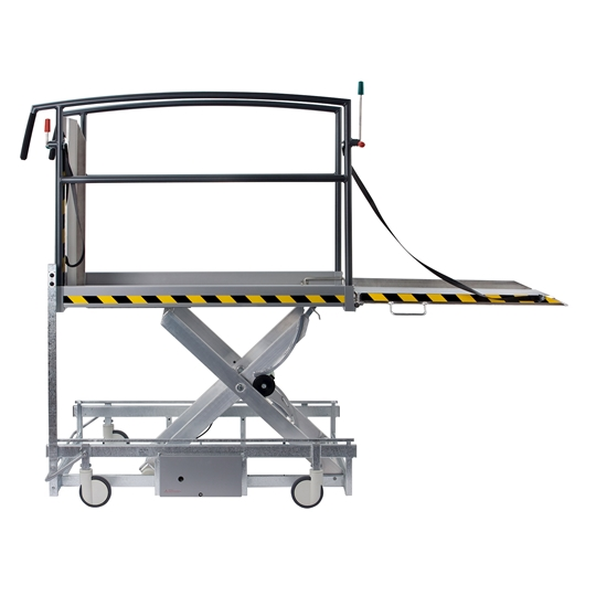The Stepless LP11 is a mobile platform lift