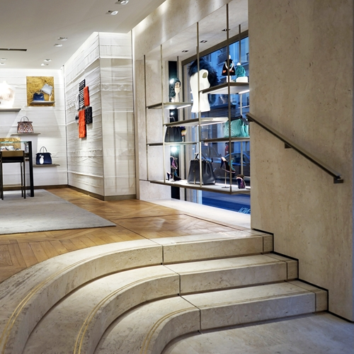 Invisible and discreet bespoke platform lift