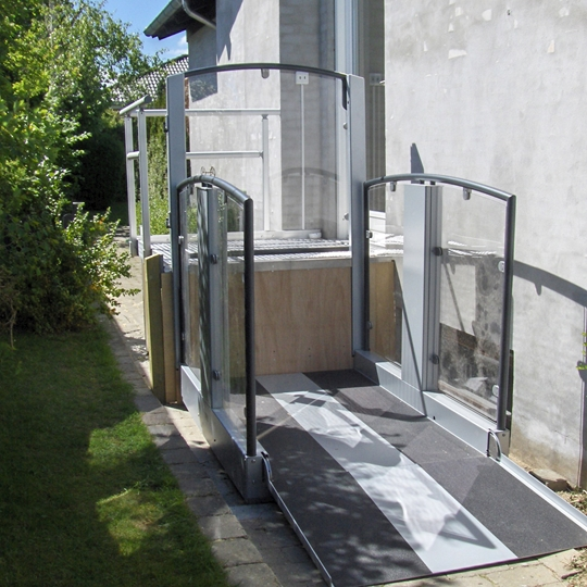 handicap lift in private home